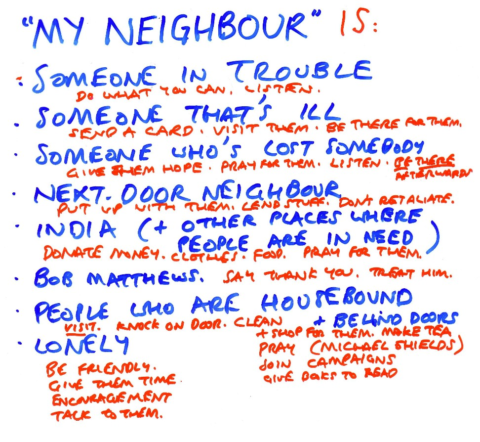 My neighbour essay
