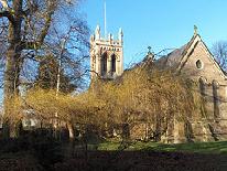 Old Basford: St Leodegarius garden