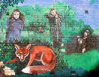 New Basford: Mural, Fox & Crown